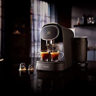 Philips LOR Barista LM8018/90 + LOr Café Espresso Colombia 5 paquetes de 10 cápsulas