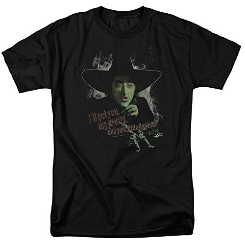 Black Dorothy Wizard Of Oz (Wizard Of Oz And Your Little Dog Too Mens Short Sleeve Shirt (Black, Large))