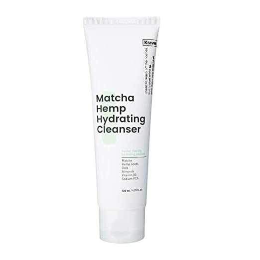 Krave Beauty Matcha Hemp Hydrating Cleanser 4.05oz K-beauty