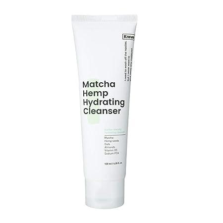 Krave Beauty Matcha Hemp Hydrating Cleanser 4.05oz K Beauty by Krave Beauty