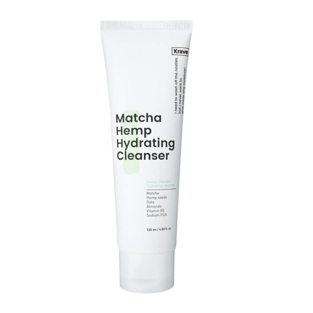 Krave Beauty Matcha Hemp Hydrating Cleanser 4.05oz K-beauty