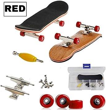 Falcon Skate de Dedos,Fingerboard Profesional,Monopatin Dedos,Juegos de Skate de Dedos Azul Oscuro