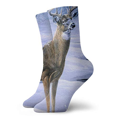 YUANSHAN Socks Winter Deer Women & Men Socks