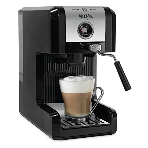 Mr. Coffee Easy Espresso Authentic Pump Espresso Machine