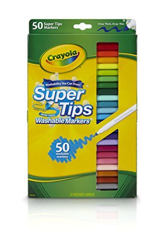 - Crayola 50ct Washable Super Tips - Styles May Vary