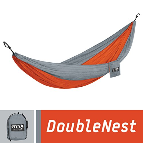 eno-eagles-nest-outfitters-doublenest-hammock-portable-hammock-for-two-orange-grey