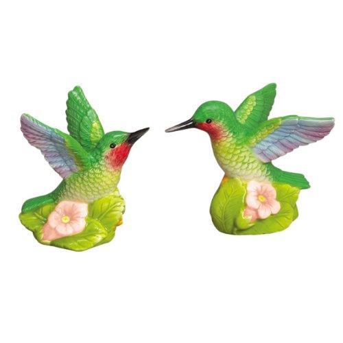 - Garden Hummingbird Bird S/P Salt & Pepper Shakers Set Andrea by Sadek