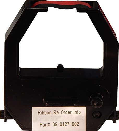 Acroprint Two Color Ribbon for ATR480 & ATR120R Time Clocks, Red/Black Acroprint Black Ribbon Cartridge