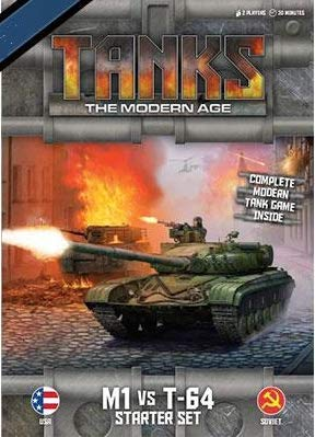 Tanks Miniatures Game - Core & Assorted Gale Force Nine 15mm M1 vs. T-64 SW