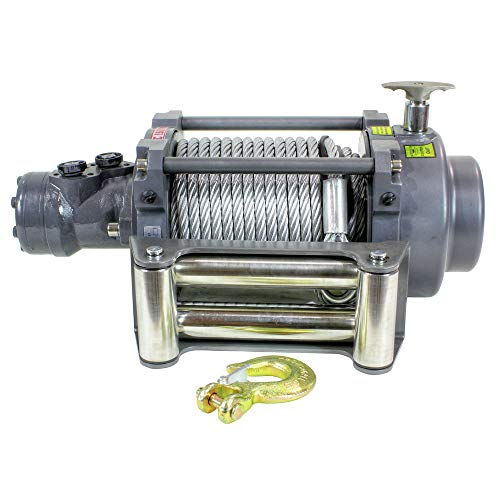 Warrior 15000 lb Hydraulic Winch NH Series