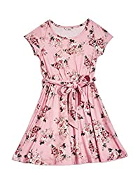 Guess Factory Zoey Floral Skater Dress (7-16)
