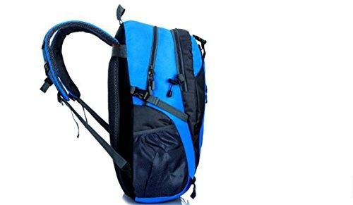 Lqabw Hombro Bolsa Del De Nuevos Deporte Mochila Mujeres Ocasional Viaje Blue Hombres Y Universal orange rqFgr7a