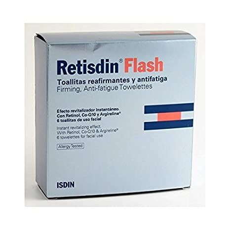 RETISDIN FLASH 6 TOALLITAS REAFIRMANTES