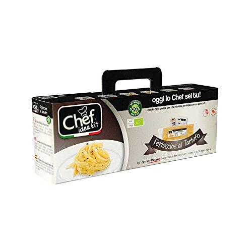 CHEF IDEA KIT ~ FETTUCCINE AL TARTUFO (Black Truffle) (Truffle Butter Recipe)