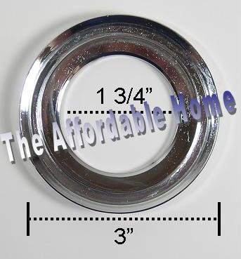 Inello Brushed Nickel Mounting Ring for Vessel Sinks by Inello