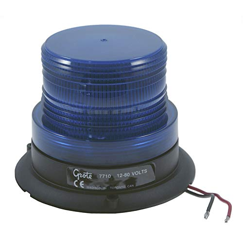 Grote 77105 Blue Mighty Mini Strobe (Single Flash) by Grote
