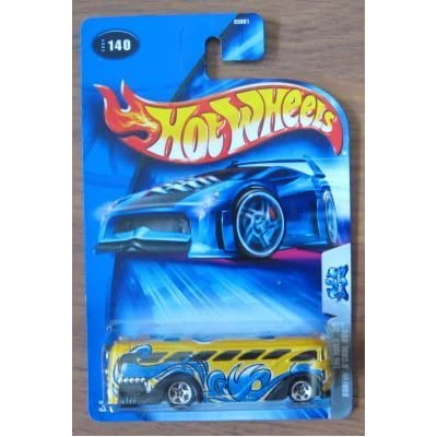 Hot Wheels 2004 Tag Rides 3/5 Surfin' S'Cool Bus YELLOW 140: Toys & Games