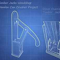 Amazoncom Wooden Can Crusher Handmade