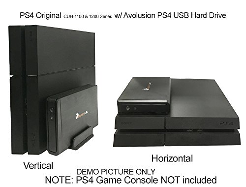 how to set up an extermal hard drive ps4