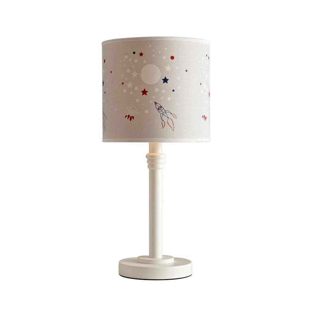 Children's Room Cartoon Table Lamp Model Bedroom Bedside Lamp Creative Solid Wood Decorative Lamp Interior Lighting