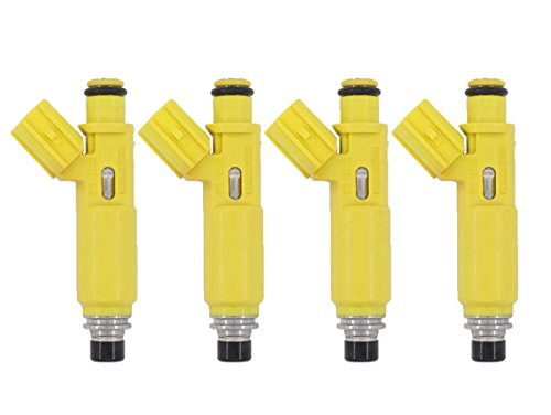 XtremeAmazing Set of 4 Flow Matched Fuel Injector Nozzles For Toyota RAV4 23250-28050