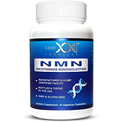2 X 60 Capsules - NMN 250mg Serving Nicotinamide Mononucleotide Direct NAD+ Supplement More Stable Than Riboside (2X 125mg Capsules 60ct).