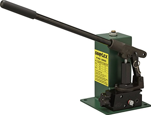 Simplex P1603A Special Application Hand Pump, 148 cu in oil Reservoir capacity, 12000 PSI, Green (Pumps Simplex Hand)