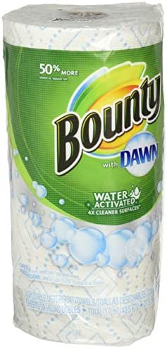 Paper Towels: Bounty with Dawn