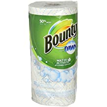 Bounty Bounty with dawn water-activated multi-purpose cleaning towels, white, 1 giant roll