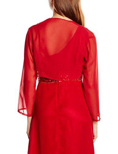 Rot Torera Rojo para Astrapahl Mujer wIfqgf7n