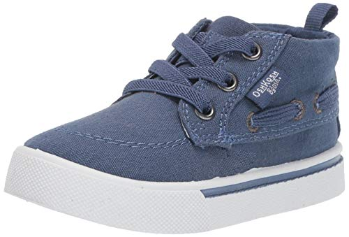 OshKosh B'Gosh Boys Barclay Casual High-top Sneaker, Blue, 8 M US Toddler (Shoes Toddler Boys Oshkosh)
