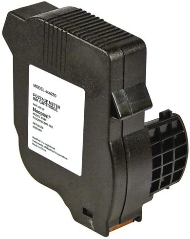 4145144H SuppliesMAX Compatible Replacement for NeoPost IS-240//280 Red Postage Meter Inkjet 2500 Page Yield