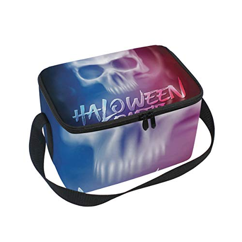FORMRS Lunch Box Insulated Lunch Bag Large Cooler Halloween Party Flyer Tote Bag for Men, Women, Girls, Boys for $<!--$15.00-->