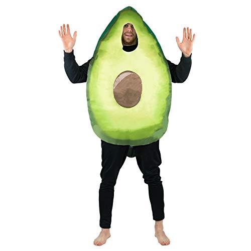Bodysocks Adult Avocado Fancy Dress Costume