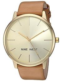 Nine West NW1996CHCM Reloj de Diseñador para Mujer