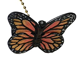Pink and Yellow Butterfly Fan Pull