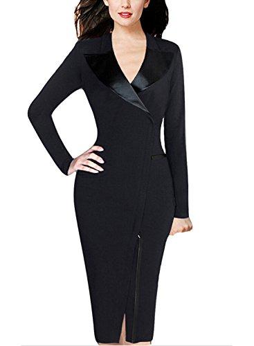 YEEZ Womens Sleeves Elegant Business