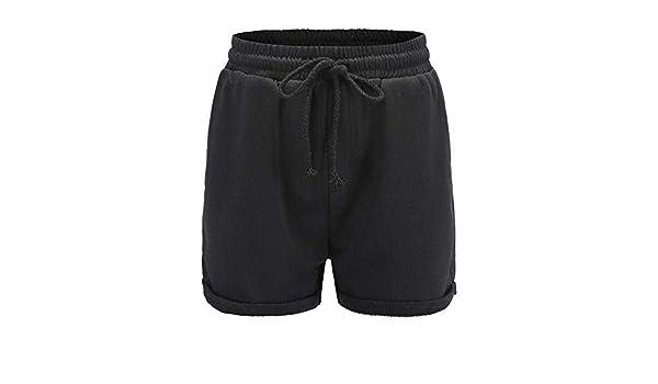 ZHOUJINGTIAN Pantalones Cortos Pantalones Cortos de Sueltos ...