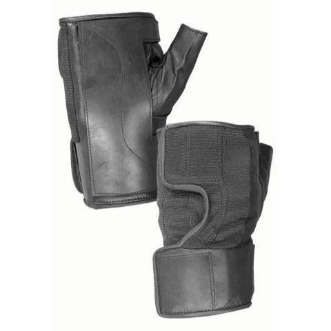 (Hatch TP100B Wheelchair Quad Push Gloves - Rubber Palm, Small – Medium, Black)