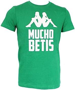 Kappa Real Betis Balompié 2019-2020, Camiseta, Verde: Amazon.es: Deportes y aire libre