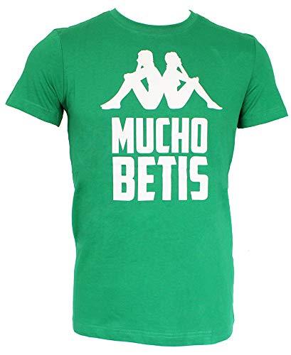 Kappa Real Betis Balompié 2019-2020, Camiseta, Verde: Amazon.es ...