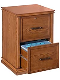 Realspace(R) Premium Wood File Cabinet, 2 Drawers, 30in.H X