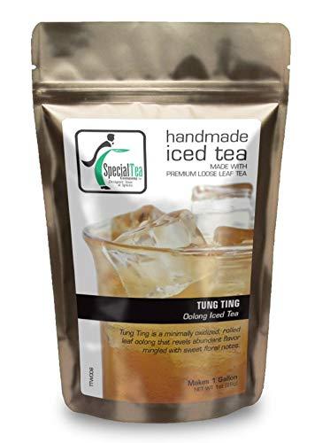 Special Tea Tung Ting Oolong Iced Tea Makes 1 Gallon, 1 Ounce - Ting Oolong Tea