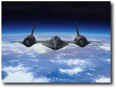 Aviation Art Prints Untouchable A//P by Dru Blair SR-71 Blackbird