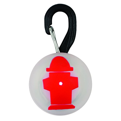 - Nite Ize PetLit LED Collar Light, Dog Or Cat Collar Light, Replaceable Batteries, White LED Fire Hydrant Design
