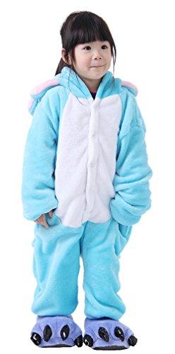 iNewbetter Childrens Pajamas Animal Onesies Cosplay Homewear (105(Height 115-125cm), Elephant) (Elephant Onesies For Adults)