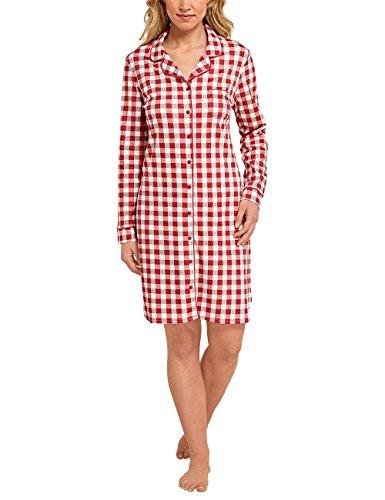 Schiesser, Camisón para Mujer Rojo