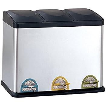 Amazoncom Organize It All Dual Compartment StepOn 12Gallon