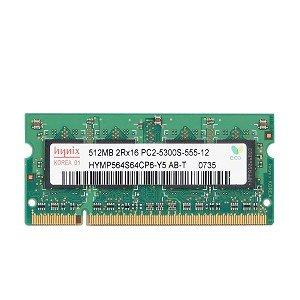 - Hynix 512MB DDR2 RAM PC2-5300 200-Pin Laptop SODIMM
