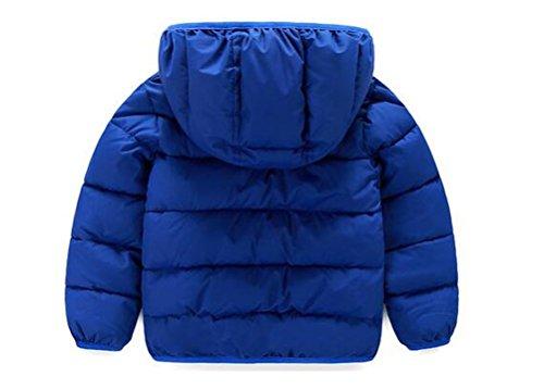 Stesti Winter Coat For Toddler Girls PU Motorcycle Winter Coat For Toddler Boys